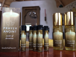 Prayer Anoint bottles