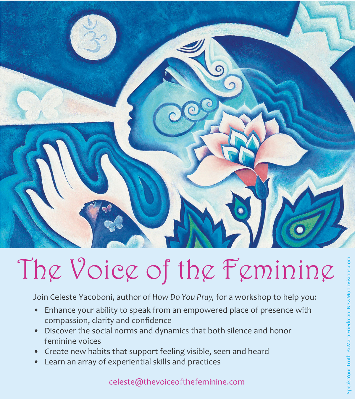 Voice of the Feminine workshop